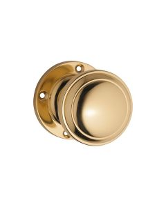 Milton Knob Latch Polished Brass 0723