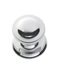 Centre Door Knob Chrome Plate 1308