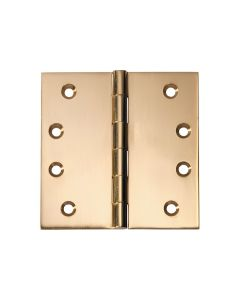 Hinges Fixed Pin Polished Brass 2474