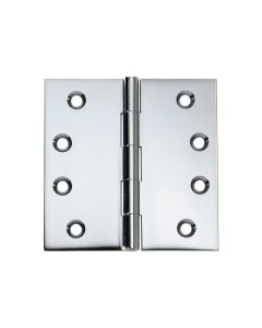 Hinges Fixed Pin Chrome Plate 2674