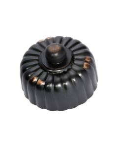 Fluted Dimmer Switch Antique Copper 5484