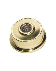 Federation Television Socket Polished Brass 5490