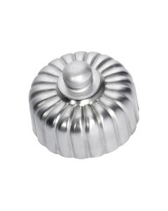 Fluted Dimmer Switch Satin Chrome 5541