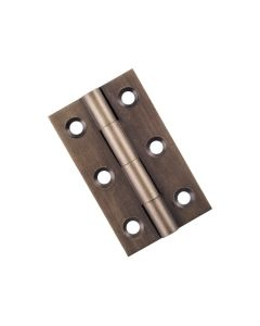 Fixed Pin Cabinet Hinge Antique Brass 9728