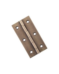 Fixed Pin Cabinet Hinge Antique Brass 9730