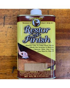 Howard Restor-A-Finish 473ml Mahogany