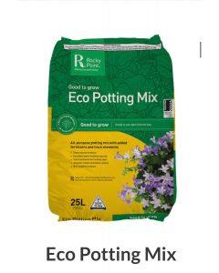 Rocky Point Mulching Eco Potting Mix 25L