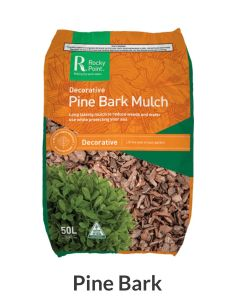 Rocky Point Mulching Pine Bark Mulch 50L