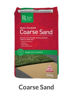 Rocky Point Mulching Coarse Sand 50L