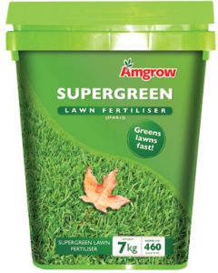 Supergreen Lawn Food 7kg Bucket