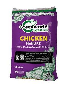 Rocky Point Mulching Chicken Manure 25 litres