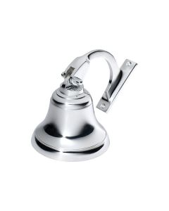 Ships Bell Chrome Plate 100mm 1293