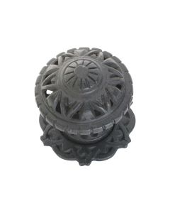 Filigree Centre Door Knob Antique Finish 1317