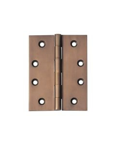 Hinges Fixed Pin Antique Brass 2373