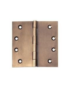 Hinges Fixed Pin Antique Brass 2374