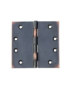 Hinges Fixed Pin Antique Copper 2574
