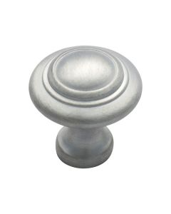Domed Cupboard Knobs Satin Chrome 3056