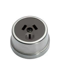 Traditional Socket Satin Chrome 5524