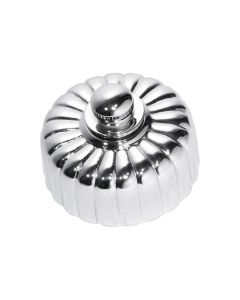 Fluted Fan Controller Chrome Plate 5787