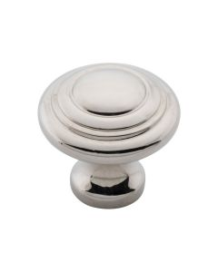 Domed Cupboard Knobs Polished Nickel 6536