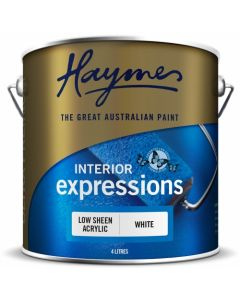 Haymes Low Sheen Interior White Base 10ltr