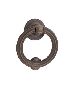 Siena Door Knocker Antique Brass 9471