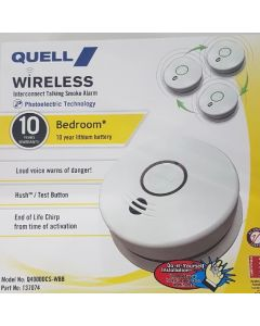 Quell Wireless Interconnect Smoke Alarm - Bedroom