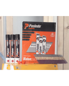 Paslode Impulse 75 x 3.06 Value Framing Pack