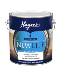 Haymes Newlife Interior Acrylic 4 Ltr White